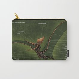 Male Pteranodon Sternbergi Skeleton Carry-All Pouch