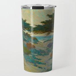 Granville Redmond Carmel Coast Oil Painting Vintage American Art Travel Mug