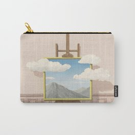 Rene Magritte La Vengeance  Carry-All Pouch