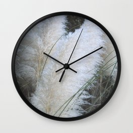 Feather Like Wall Clock