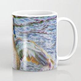 Lady Duck (Digital Art) Coffee Mug