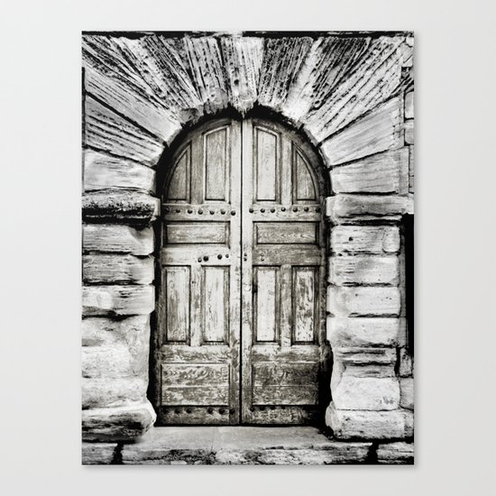 closed#01 Canvas Print