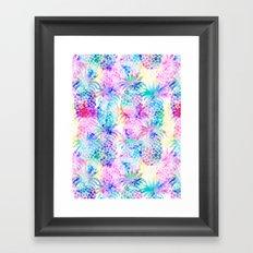 Pineapple Dream Framed Art Print