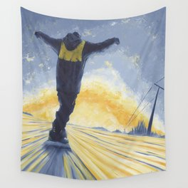 Salute The Sun Wall Tapestry