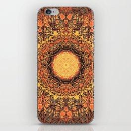 Marigold Mandala iPhone Skin