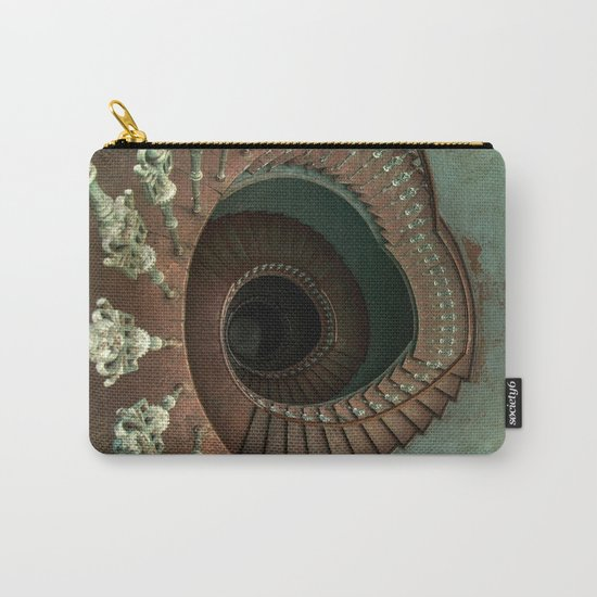 Ornamented spiral staircase Carry-All Pouch
