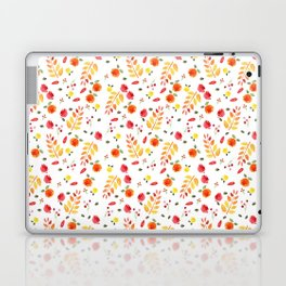 Floral Autumn Pattern Laptop & iPad Skin