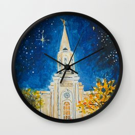 St Louis Missouri LDS Temple Wall Clock