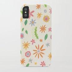 Colourful Daisies Slim Case iPhone X