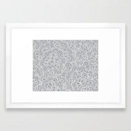 Paisleyesque Framed Art Print