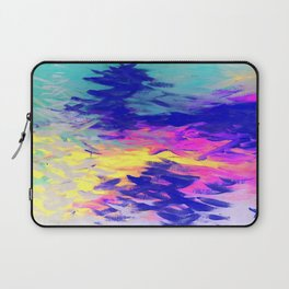 Neon Mimosa Inspired Painting Laptop Sleeve