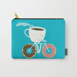 Coffee and Donuts Carry-All Pouch