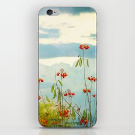 Red Bird of Paradise iPhone Skin