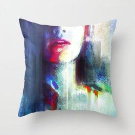 Bitten Throw Pillow