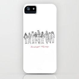 Friends Don't Lie (Black) iPhone Case