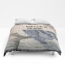 Beauty is in the eye Comforters