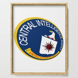 CIA Shield Serving Tray