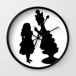 The Red Queen Wall Clock