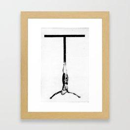 DARK PT 00 Framed Art Print