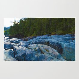 On route to Ucluelet on Vancouver Island, BC Rug