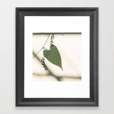 Have a heart Framed Art Print