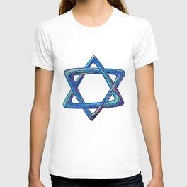 Shield of David. Star of David T-shirt