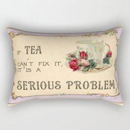 Fixing Tea Rectangular Pillow