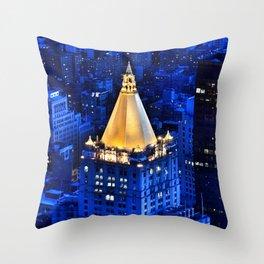 New York Life Building Throw Pillow
