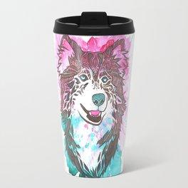 What a Husky  Travel Mug