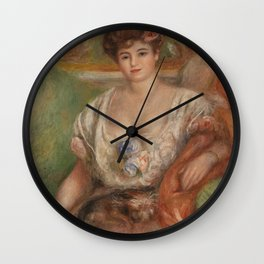 Portrait of Misia Sert Wall Clock