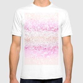 Unicorn Girls Glitter #2 #shiny #pastel #decor #art #society6 T-shirt