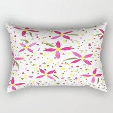 Petals and Joy Rectangular Pillow