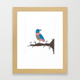Spats Framed Art Print