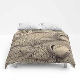 The Golden Fish (1) Comforters