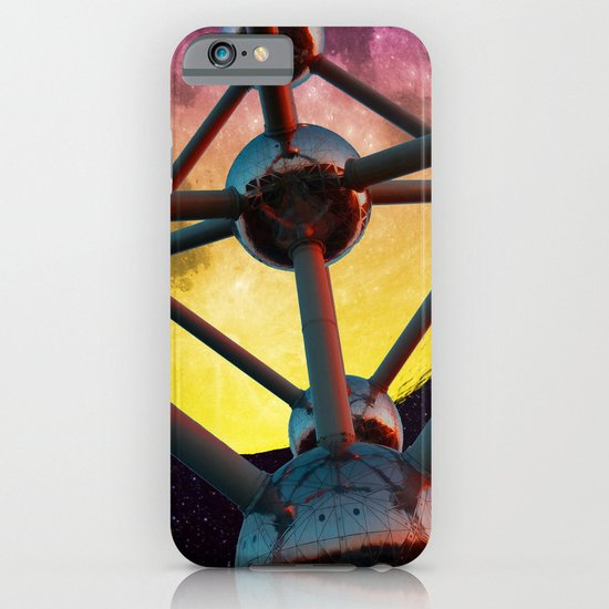 Atomium in space iPhone & iPod Case