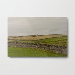 Teesdale Cottage Metal Print