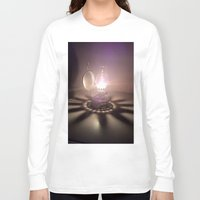 duvet cover Long Sleeve T-shirts featuring LIGHT AND SHADOW DUVET COVER by aztosaha