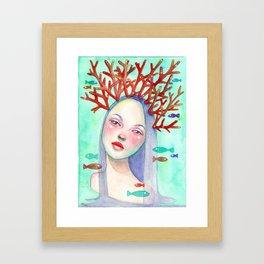 Coralie Framed Art Print