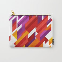 Array Of Triangles Geometric Patterns Carry-All Pouch