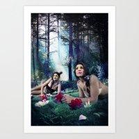 Eden Garden v.1 Art Print