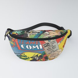 Comics Collage Fanny Pack