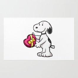 Snoopy Love Rug