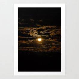 A Look of Heaven Art Print
