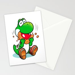 Yoshi And Cookie Stationery Cards