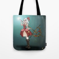 rwby Tote Bags featuring Alice Le Blanc by Phantasmic Dream