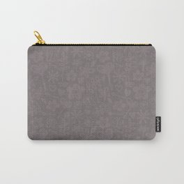 Mocha Doodles Carry-All Pouch