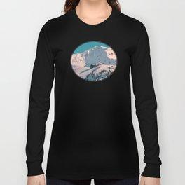Mt. Alyeska Ski Resort - Alaska Long Sleeve T-shirt