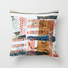 Pieces of Places Past Throw Pillow