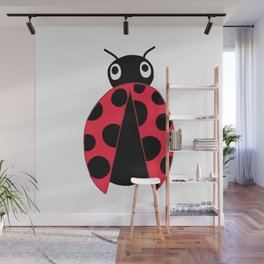 One Ladybug Wall Mural