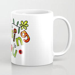 Missing You Text Expression Coffee Mug